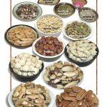 Posters de Alimentos Naturales - Nueces y Semillas (9x12)